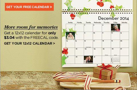 Get your free calendar