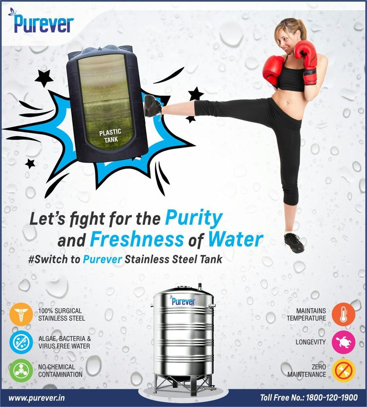 #PUREVER#Fight for the#PURITY#and#FRESHNESS#of Water#Switch to Purever Stainless Steel Water Tank#http://www.purever.in/