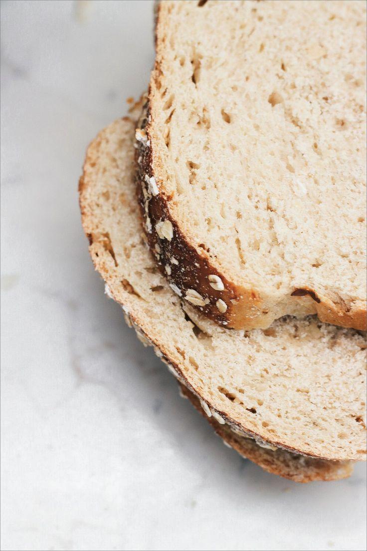 Honey bread Oat - Pane all'avena e miele con semi di lino e fiocchi di riso integrale