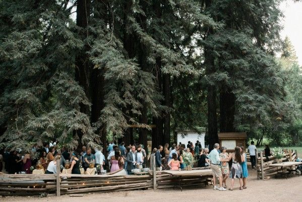 Camp Navarro - woodland wedding venue in California with rustic camp vibes. Photo: Christina Richards Photography