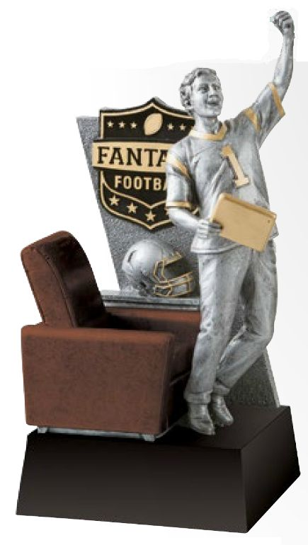 Fantasy Football Champion Resin