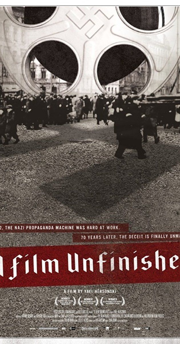 Directed by Yael Hersonski. With Alexander Beyer, Rüdiger Vogler, Hanna Avrutzki, Luba Gewisser. A film about an unfinished film which portrays the people behind and before the camera in the Warsaw Ghetto, exposing the extent of the cinematic manipulation forever changing the way we look at historic images.