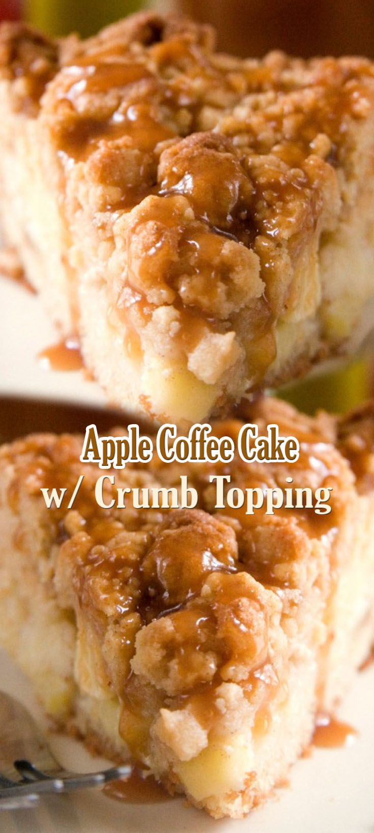 Apple Coffee Cake with Crumb Topping