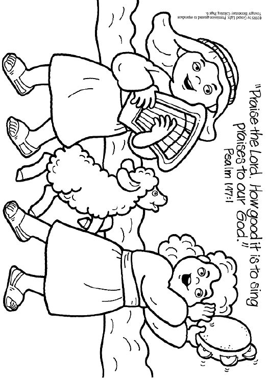 coloring pages praise - photo#8