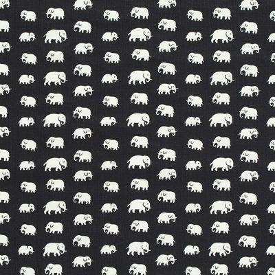 Svenskt Tenn Textil Elefant Blå