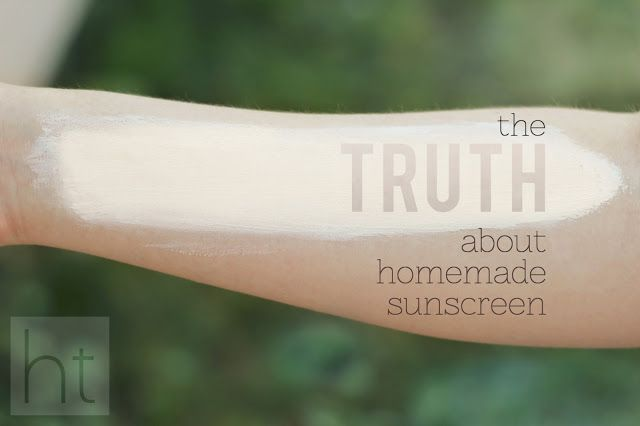 The TRUTH about Homemade Sunscreen - analyzing the debate against store-bought & w/all-natural recipes!