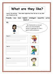 Adjective to Describe Personality and Character worksheet - Free ESL printable worksheets made by teachers