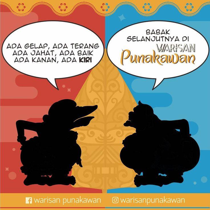 "Babak selanjutnya di Warisan Punakawan: ""Oposisi Biner"" Like, komen&repost temen2 yg bikin kita semangat buat ngelanjutin gerakan nirlaba ini gaezz :D  #warisanpunakawan #punakawan #heritage #wayang #wayangkulit #budaya #culture #puppet #shadowpappet #semar #gareng #petruk #bagong #indonesia #jogja #kampanyebudaya #budayaindonesia #java #infographic #infografis #history #atribut #illustration #teaser"