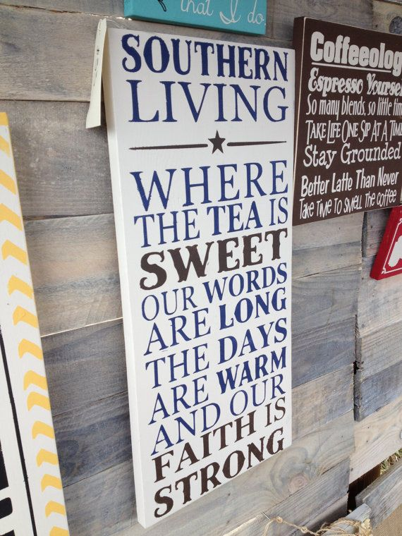 Southern Living  Unique Gift  Handpainted by BoondocksBoutique, $30.00