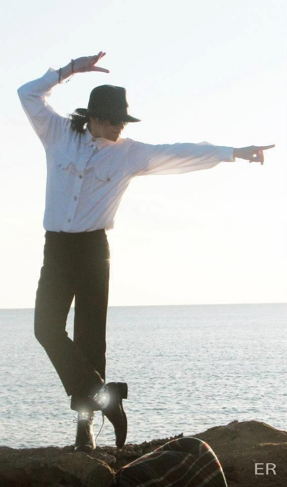 Michael Jackson...a truly gifted dancer! I remember the joy and thrill of watching him.