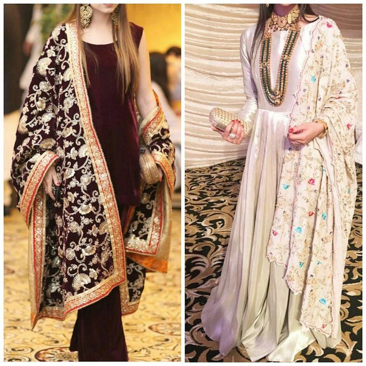 TRENDING: Plain shirt&pants/dresses with heavy embellished chaadar duppatas  Tip: this trend was in fashion 15 years ago too, so raid your moms old clothes and steal a duppata or two!  #embroidery #bff #shaadi #season #trend #trendalert #qawwali #desibride #dholak #kundan #Jewellery #indian #pakistan #middleeast #loveshopping #style #styleblogger #shaadiwears #shaaditime #dubai #dulhanwear #pakistanibrides #bridetobe #bridalshower #bridalseason #dulha #rasm #sangeetnight #sangeet #bol...