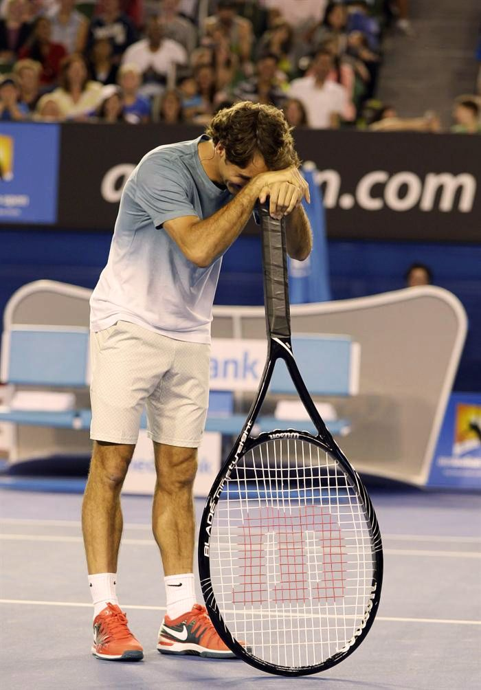 We knew #Federer was switching to a racquet with a bigger headsize… but we weren't expecting this big!