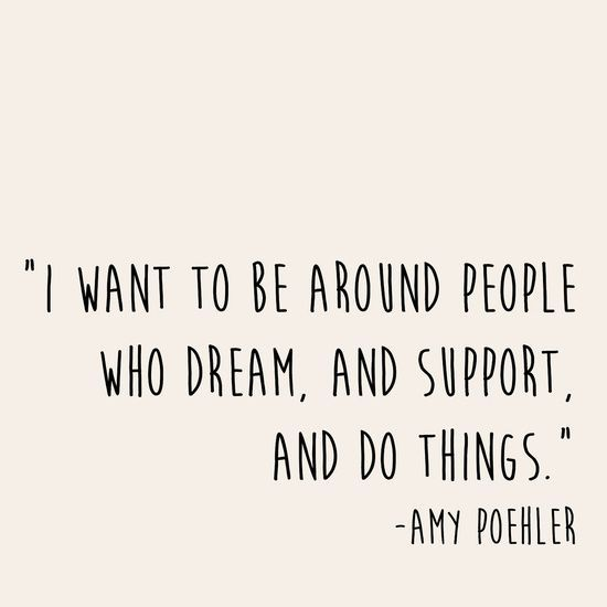I want to be around people who do things. Art Print by Courtneeeee