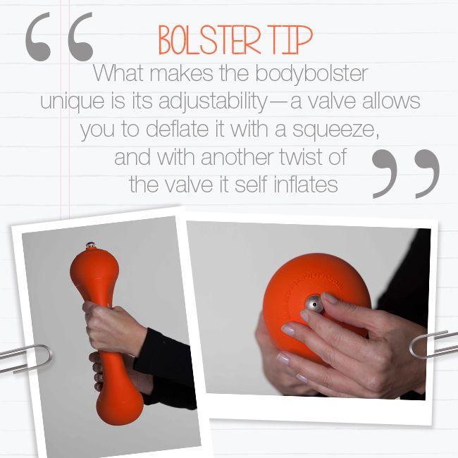 Bolster Tip!