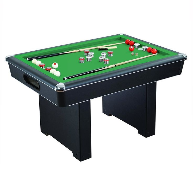 Renegade 54-in Slate Bumper Pool Table - With Ball Return