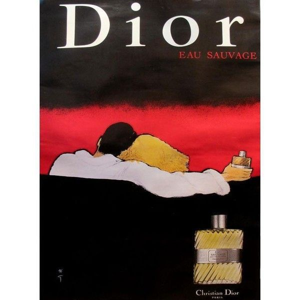 1979 Vintage Christian Dior Eau Sauvage Perfume Ad ($1,200) ❤ liked on Polyvore featuring home, home decor, vintage home decor, christian dior, vintage home accessories and vintage figurines