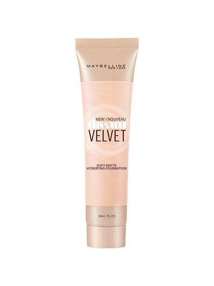 Maybelline New York Dream Velvet Gel-Whipped Foundation Both gels and whipped formulas are all the rage among high-end makeup brands, and now you can get the same benefits at a fraction of the price. The water-based gel creates a hydrating and refreshing base, and the whipped and airy texture feels almost undetectable on skin, ensuring that the matte color never turns chalky. There's also a wide range of a dozen shades, impressive for a drugstore brand.  Maybelline New York Dream Velvet…