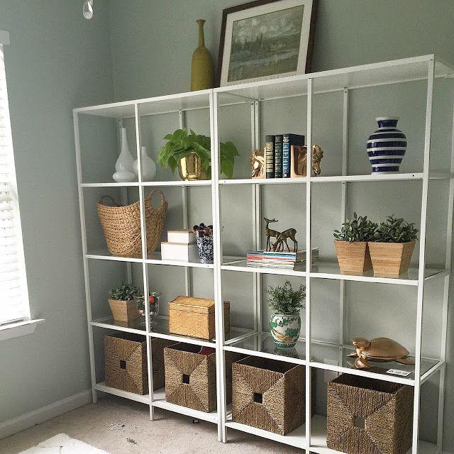 ikea vittsjo shelving project 1 room 30 days week one. Black Bedroom Furniture Sets. Home Design Ideas