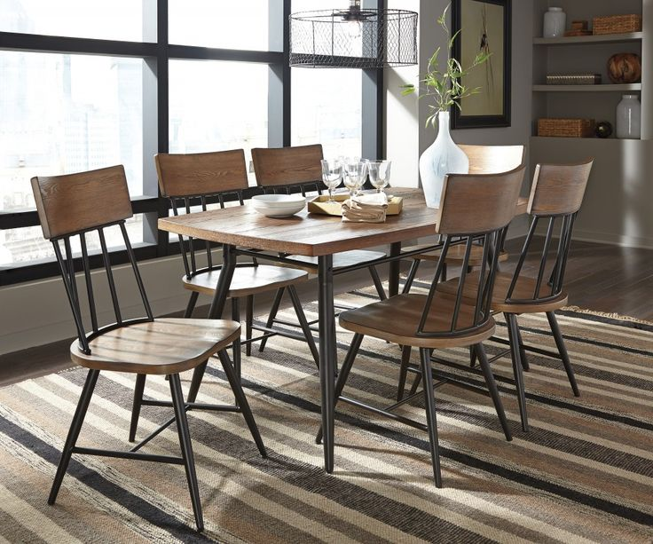 Jorwyn Dining Room Table U0026 6 Side Chairs. Chicago ...