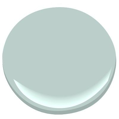 Seacliff Heights 688 Paint - Benjamin Moore. Mid-tone blue/green/gray.  Great cabinet or furniture color too.