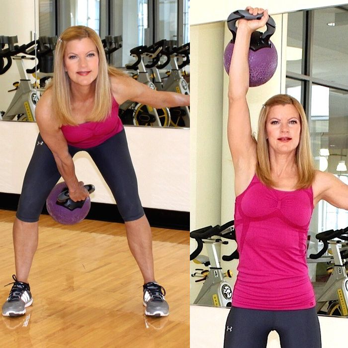 Top trainers reveal their favorite moves using this funny-looking weight that will burn calories and tone up any part of your body that you wish!