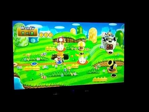 Wow a 4 c débile/1# super Mario Bros wii - YouTube
