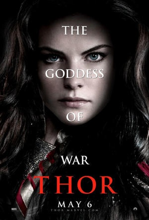 """Lady Sif """"Thor"""" poster"""