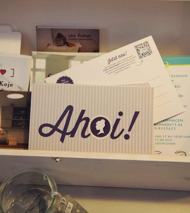 Ahoi! vom Förde Fräulein - moby.cards