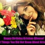 'Days of Our lives' : Happy Birthday To DOOL's Hope Brady – 10 Things To Know About Kristian Alfonso