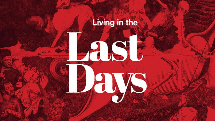 'Living in the Last Days' is a free online Bible commentary on Mark 13 and the end of days. Audio sermon series on the end times.