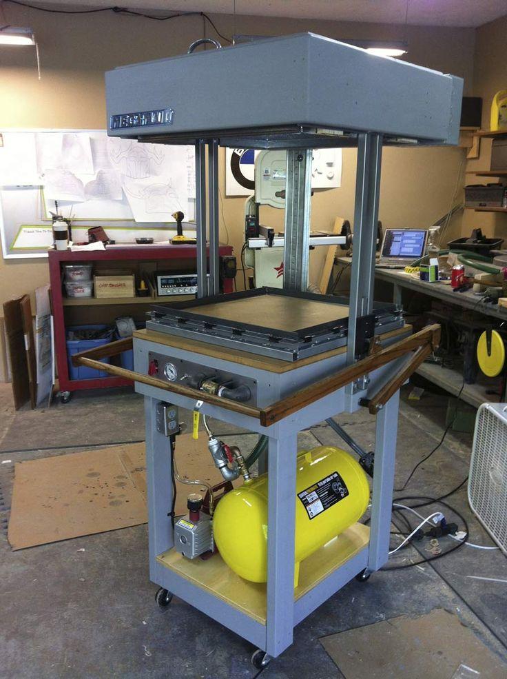 Volpin Props Protoform Vacuum Forming Machine Vacuum