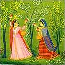 Rajasthani Miniature Painting - Folk and Tribal Art - Culture and Heritage - Know India: National Portal of India