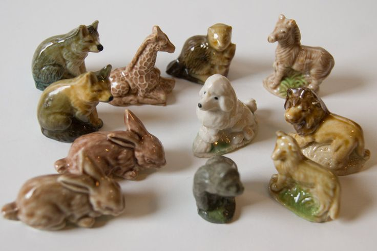 Wade Whimsies - I collected loads of these when I was little! Spent all my pocket money on these.