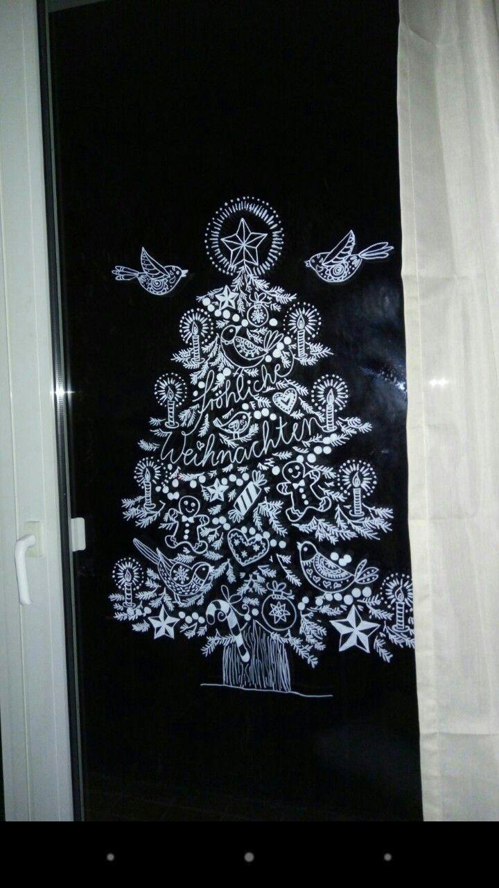 25 einzigartige fensterscheiben ideen auf pinterest fensterscheibe handwerk rustikaler - Kreidemarker vorlagen weihnachten ...