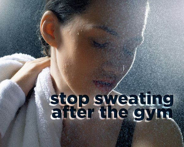 The Quickest Way to Stop Sweating Post-Workout