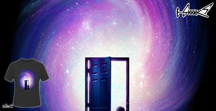 Magliette+Doors+To+Your+Future+-+Disegnato+da+:+Lou+Patrick+Mackay