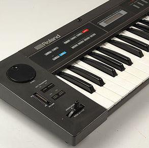 Roland Alpha Juno 2 analog synthesizer