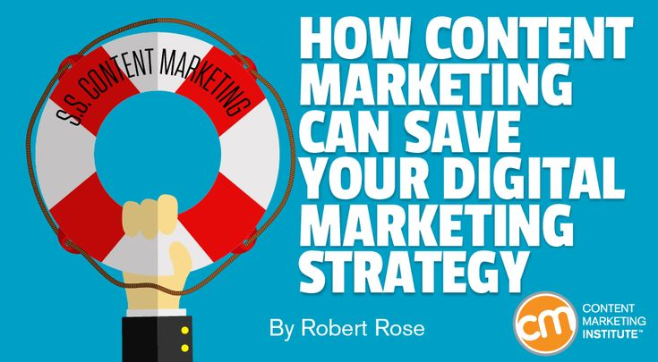 How Content Marketing Can Save Your Digital Marketing Strategy: In a world where most companies don't have an integrated digital marketing strategy, now's the time for content marketers to step up their leadership. Let CMI's chief strategy advisor explain. Continue reading → The post How Content Marketing Can Save Your Digital Marketing Strategy appeared first on...