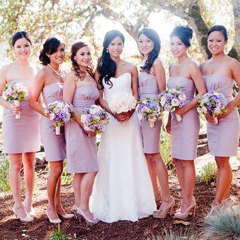 Brides: A Lavender-Themed Vineyard Wedding in Northern California