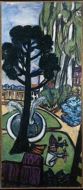 Max Beckmann - West Park, 1950 - The Met