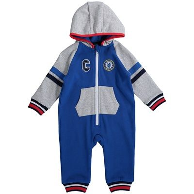 Chelsea Hooded All In One - Royal - Baby Boys: Chelsea Hooded All In One - Royal - Baby Boys… #ChelseaShop #ChelseaStore #ChelseaFC #Chelsea