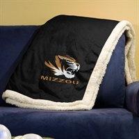 Missouri Tigers Sherpa Throw Blanket #Mizzou
