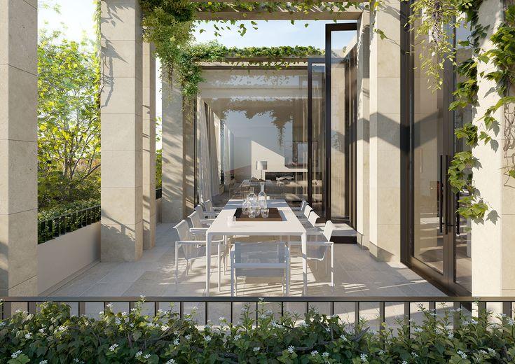 MILLSWYN South Yarra by Rob Mills Architects