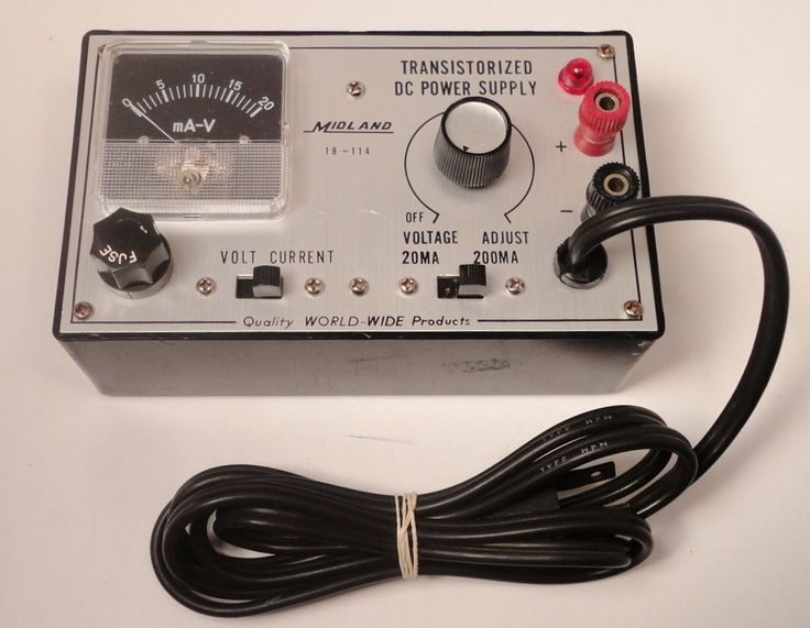 Vtg Midland 18-114 Transistorized DC Power Supply 20Ma 200Ma DC Voltage http://stores.ebay.com/pricelessfinds/Vintage-Collectible-/_i.html?_fsub=10901744017