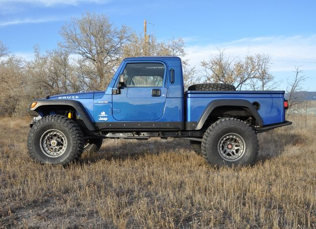 jeep brute. conversion. awesome. MAYBE ONE Day i'll have this  & it BLUE!
