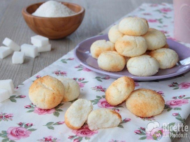 Biscotti al Cocco morbidi