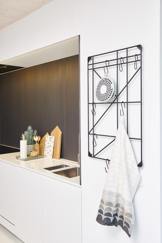 Square rack, kitchen towel, pot holders and other decoration Ferm Living