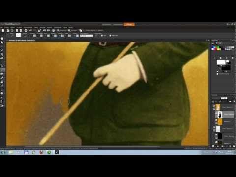 Corel Paint Shop Pro X4 Tutorial PL - Obróbka Zdjęć [Kolorowanie czarno białych zdjęć] - YouTube