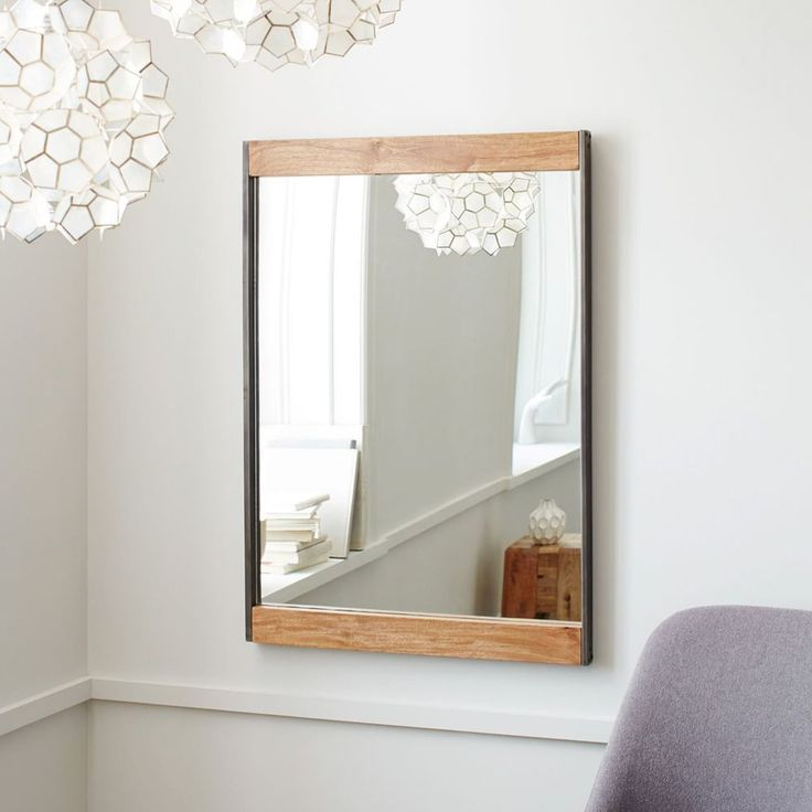 Mirror: industrial - West Elm