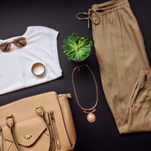 Obsessed with these linen pants!